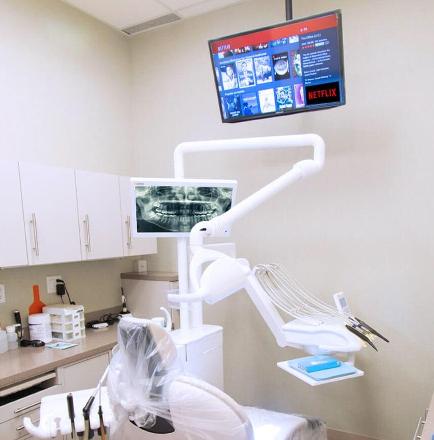 Dentist Amenity Netflix