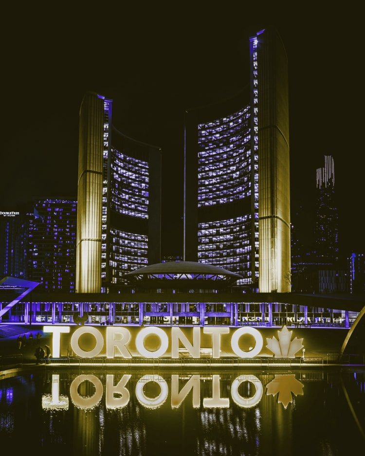 Toronto City Hall in Downtown