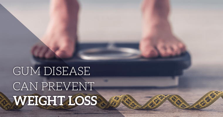 gum disease and weight loss