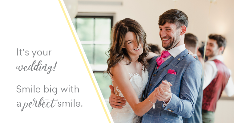 Wedding Smile Makeover – Getting Your Smile Ready for the Big Day
