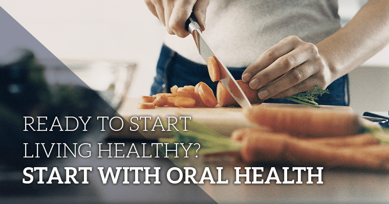 whole body health starts with oral health