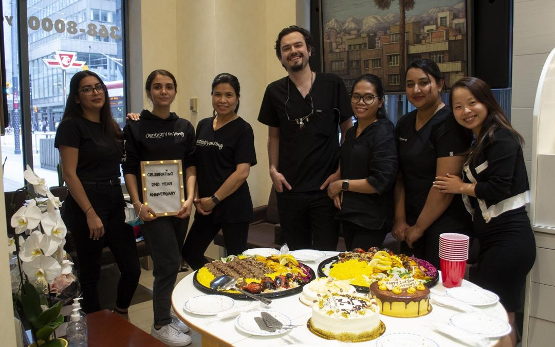 Celebrating Dr. Alavi's 2nd Year Anniversary at Dentistry on King